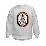 USS Bridge AOE 10 US Navy Ship Kids Sweatshirt