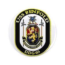 "USS Benfold DDG 65 US Navy Ship 3.5"" Button (100 p"