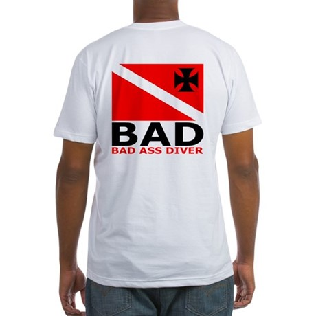 BAD Diver Logo Fitted T-Shirt