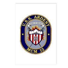 USS Ardent MCM 12 US Navy Ship Postcards (Package