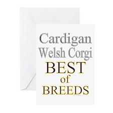 Cardigan Welsh Corgi BOB Greeting Cards (Pk of 10)