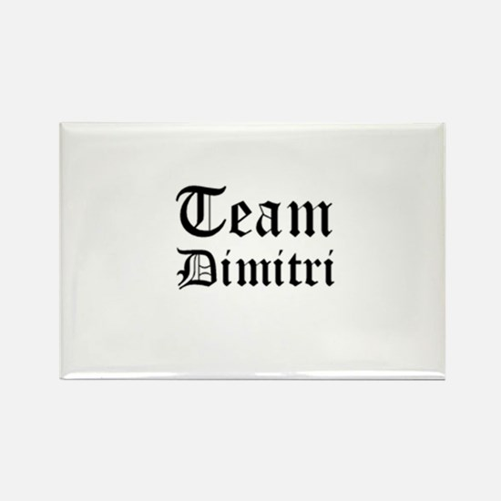 Team Dimitri Style #1 Rectangle Magnet