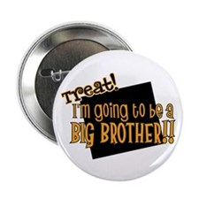 """trick or treat halloween big brother 2.25"""" Button"""