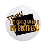 trick or treat halloween big brother Ornament (Rou