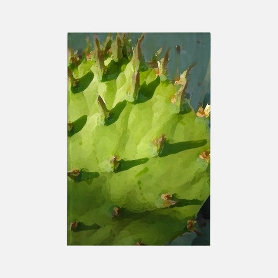 Prickly Pear Rectangle Magnet