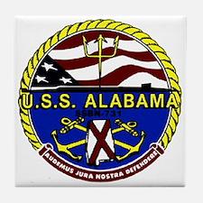 USS Alabama SSBN 731 US Navy Ship Tile Coaster