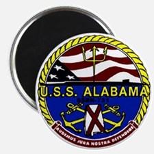 USS Alabama SSBN 731 US Navy Ship Magnet