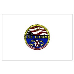 USS Alabama SSBN 731 US Navy Ship Posters