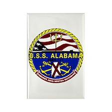 USS Alabama SSBN 731 US Navy Ship Rectangle Magnet