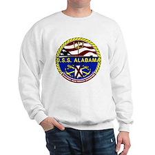 USS Alabama SSBN 731 US Navy Ship Sweatshirt