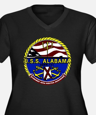 USS Alabama SSBN 731 US Navy Ship Women's Plus Siz