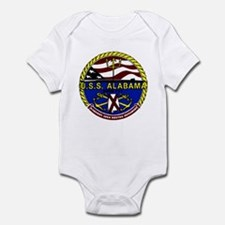 USS Alabama SSBN 731 US Navy Ship Infant Bodysuit