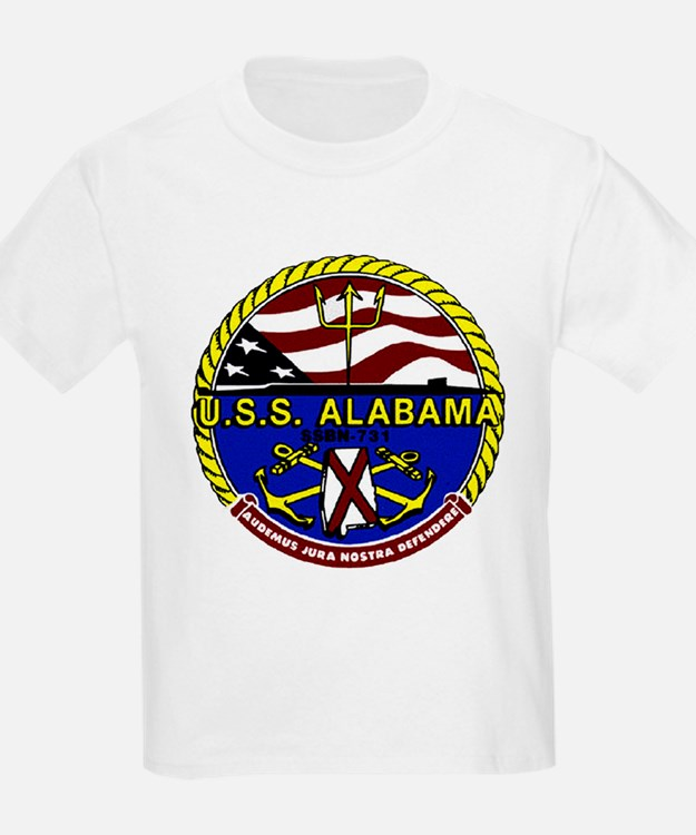 USS Alabama SSBN 731 US Navy Ship T-Shirt