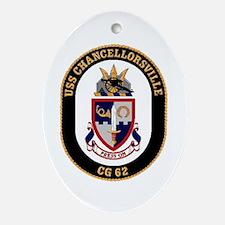 USS Chancellorsville CG 62 US Navy Ship Ornament (