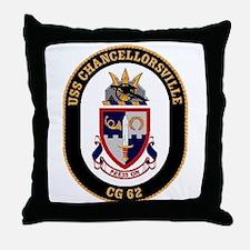 USS Chancellorsville CG 62 US Navy Ship Throw Pill