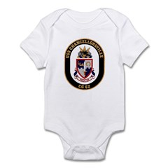 USS Chancellorsville CG 62 US Navy Ship Infant Bod