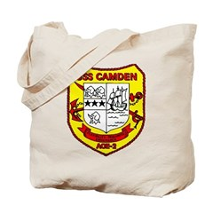 USS Camden AOE 2 US Navy Ship Tote Bag