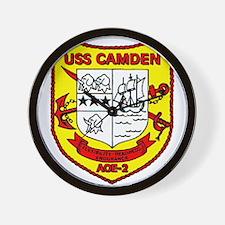 USS Camden AOE 2 US Navy Ship Wall Clock