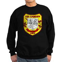 USS Camden AOE 2 US Navy Ship Sweatshirt