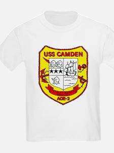 USS Camden AOE 2 US Navy Ship T-Shirt