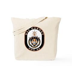 USS Carney DDG 64 US Navy Ship Tote Bag