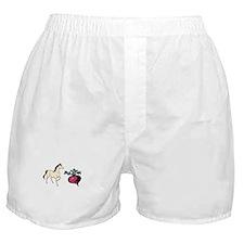 Funny Radish Boxer Shorts