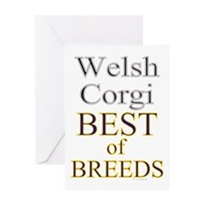 Welsh Corgi Best Of Breed Greeting Card