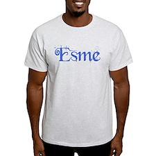 Esme (blue script) T-Shirt