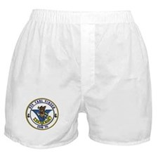 USS Carl Vinson CVN 70 US Navy Ship Boxer Shorts