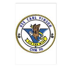 USS Carl Vinson CVN 70 US Navy Ship Postcards (Pac