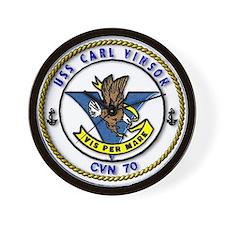 USS Carl Vinson CVN 70 US Navy Ship Wall Clock