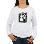 Retro Game Over Women's Long Sleeve T-Shirt