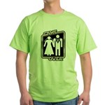 Retro Game Over Green T-Shirt