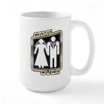 Retro Game Over Large Mug