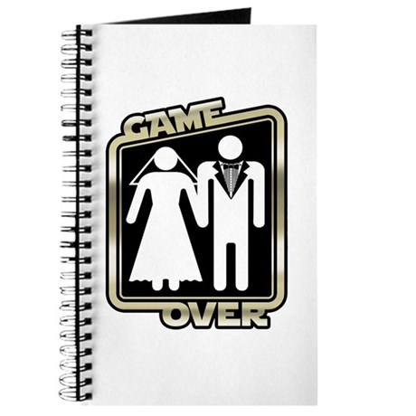 Retro Game Over Journal