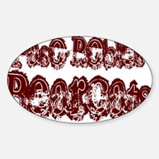 PASO ROBLES BEARCATS (25) Oval Decal