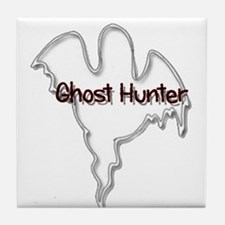 Cool Ghost hunting Tile Coaster