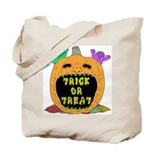Trick Or Treat Pumpkin (tote bag)