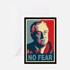FDR - No Fear Greeting Card