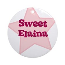 Sweet Elaina Ornament (Round)