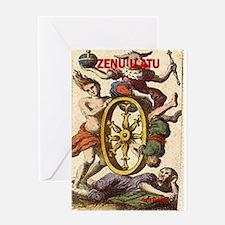 ZENU U ATU Greeting Card