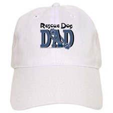 Rescue Dog DAD Baseball Cap