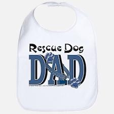 Rescue Dog DAD Bib