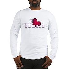 """Twilight """"I Heart Edward"""" Long Sleeve T-Shirt"""