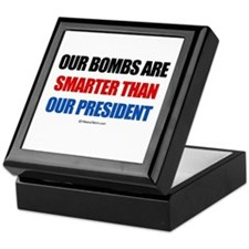 Our bombs are smarter - Keepsake Box