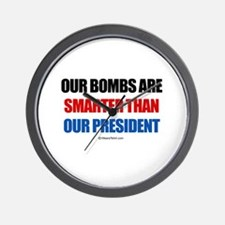 Our bombs are smarter -  Wall Clock
