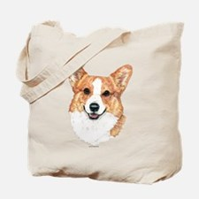 Pembroke Welsh Corgi Portrait Tote Bag