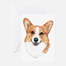Pembroke Welsh Corgi Greeting Cards (Pk of 20)