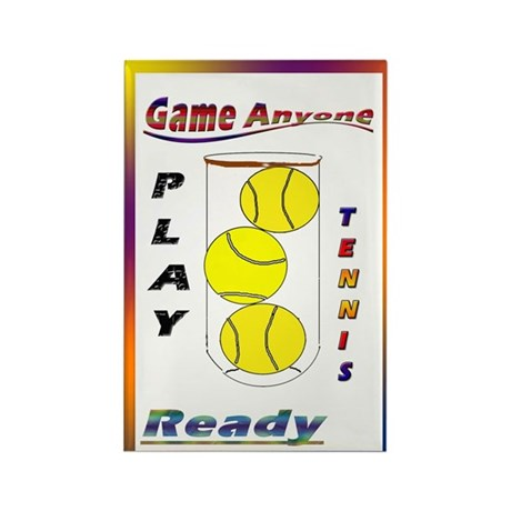 Game Anyone Rectangle Magnet (10 pack)