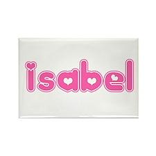 """""""Isabel"""" Rectangle Magnet"""